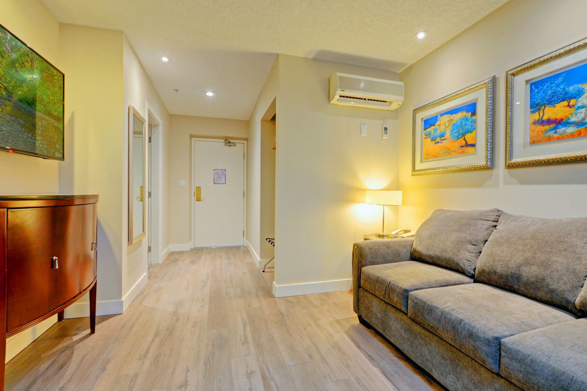 One Bedroom Suite – 1 King + Sofa Bed